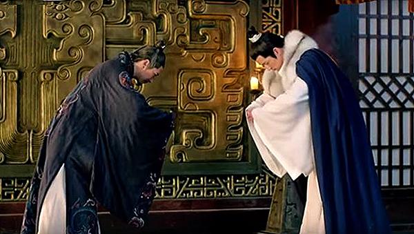 Mei Changsu saying goodbye to Marquis Yan