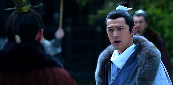 Mei Changsu shouting at Prince Jing