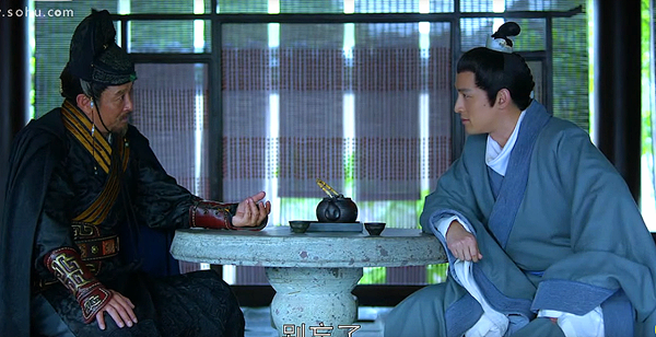 Xia Jiang interrogating Mei Changsu