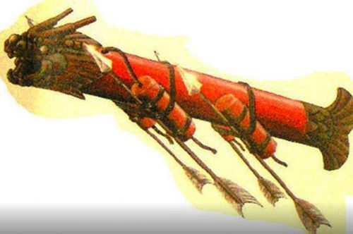 Ancient Chinese anti-ship missile