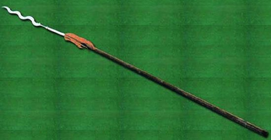 Ancient Chinese snake spear