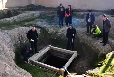 2,200-year-old well