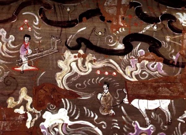 The sky 2,000 years ago depicted by ancient Chinese