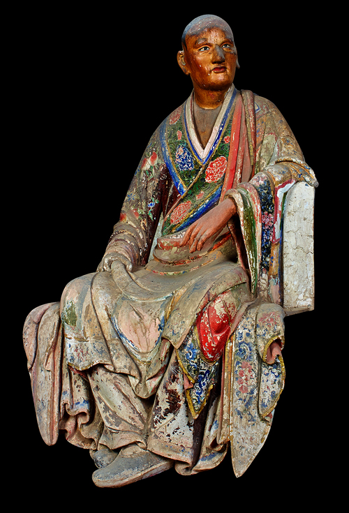 A 1,000-year-old Arhat statue