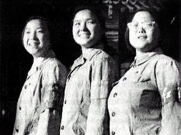Deng Xiaoping's three daughters in Cultural Revolution as Red Guards