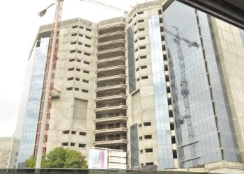PHOTO NEWS: Progress of works on Headquarters of Federal Inland Revenue Service