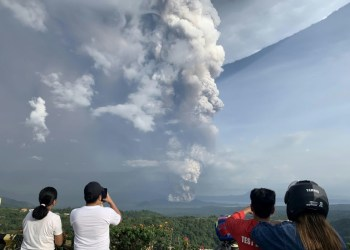 Over 53,000 locals displaced by erupting Philippine volcano