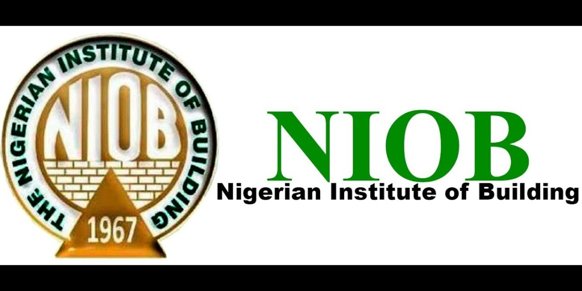 PRESS RELEASE : Nigerian institute of building (NIOB) National workshop on Building Production and Structural Stability