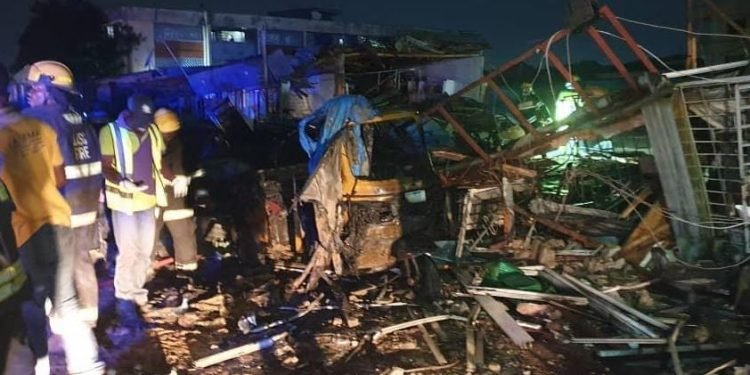 shops razed in another Lagos gas explosion