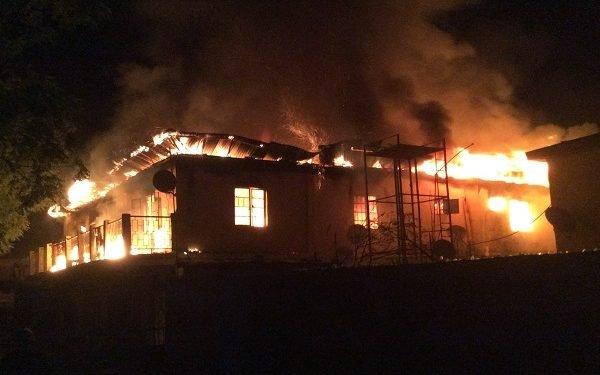 Nine shops burnt in Kwara fire