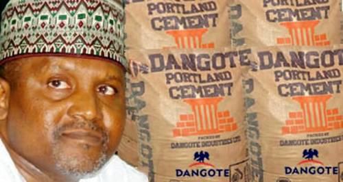Dangote Sells Cement For N1, 800 In Zambia, N3, 500 In Nigeria