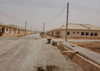 FMBN/Labor Unions completes worker's estate in Adamawa State