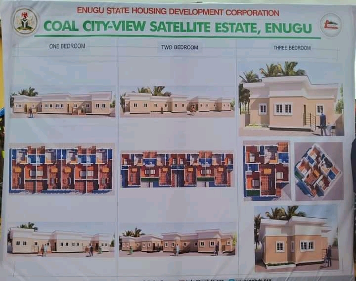 Enugu state government aims to deliver 1,500 housing units for low income earners