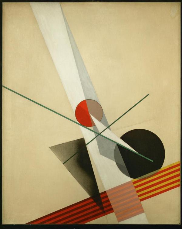 Laszlo Moholy-Nagy, Composition A XXI, 1925