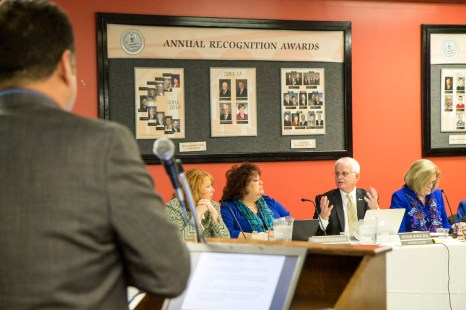 David Torres brings up the Student Success of RCC to the Board of Trustees. Chancellor Burke makes his comments. | Angel Sandoval | Viewpoints