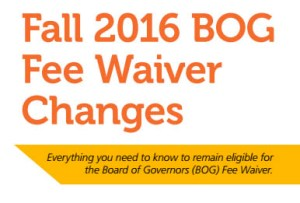 BOG Fee Wavier Flyer Title