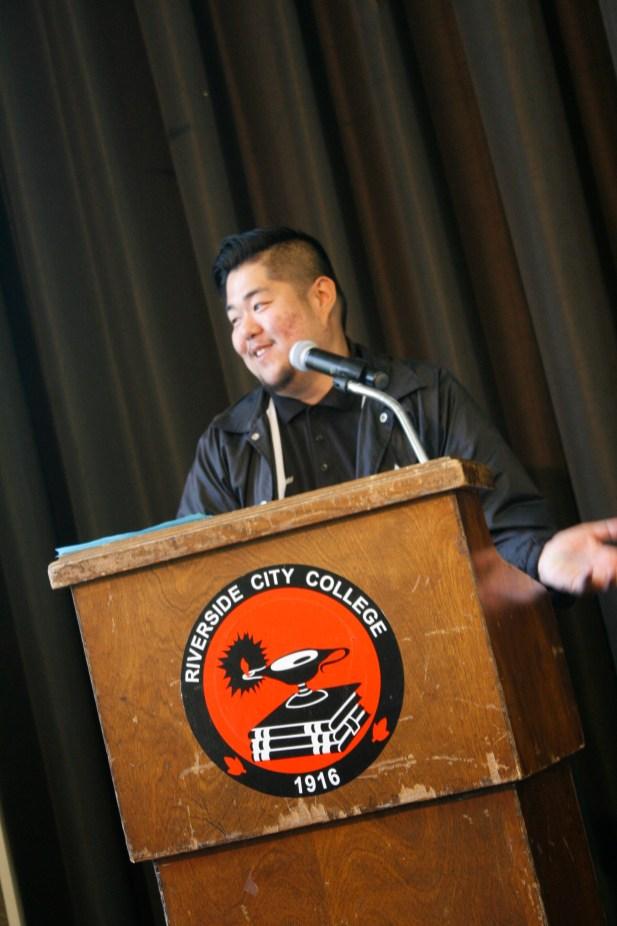 ASRCC Senator candidate Marvin Mazano
