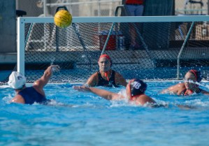 Women's water polo now 4-0 in conference play