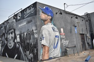Sports Column: Popular muralist recreates memorable moment in Dodgers history
