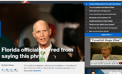 MSNBC.com home page Mar 9