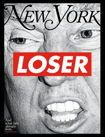 So Sad! New York Magazine cover October 31, 2016