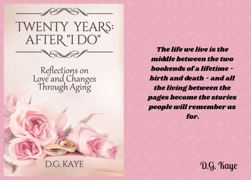 Front and back covers of Twenty Years: After I Do