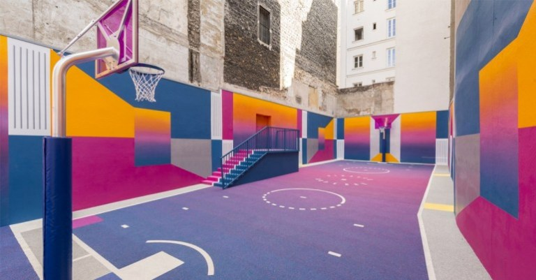 Pigalle terrain basket-ball