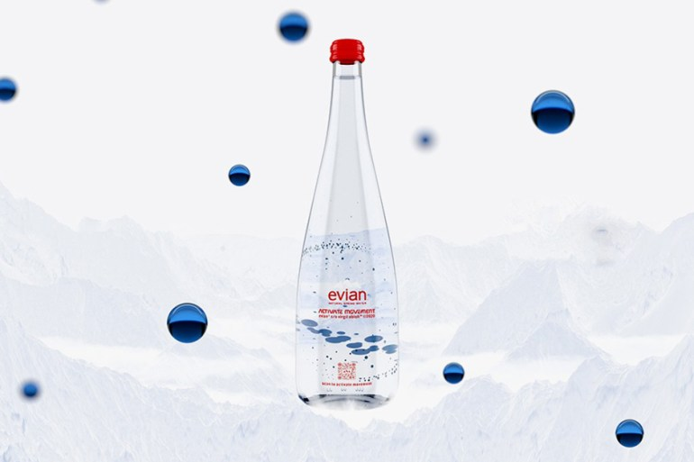 "Virgil Abloh Evian ""Activate Movement"""