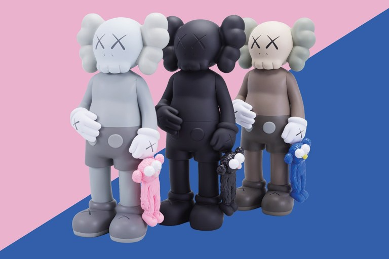 kaws share figurine