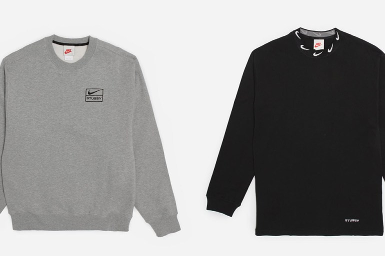 nike stussy collaboration collection