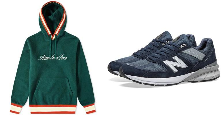 sélection sneakers streetwear end. soldes