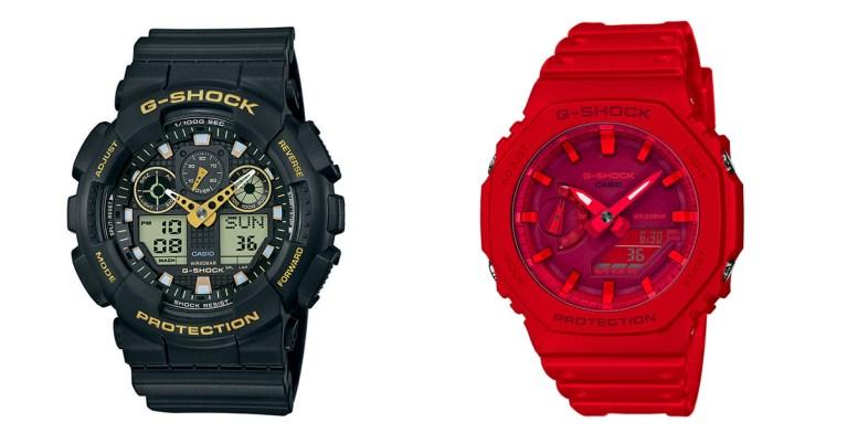 g-shock montres sélection