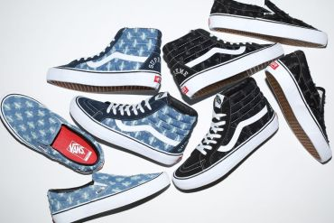supreme vans sneakers collaboration