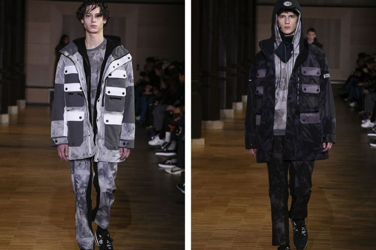 Colmar White Mountaineering collection automne/hiver 2020