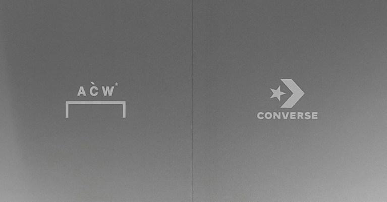 A-COLD-WALL* converse collaboration