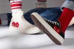 converse comme des garçons chuck taylor 70 sneakers