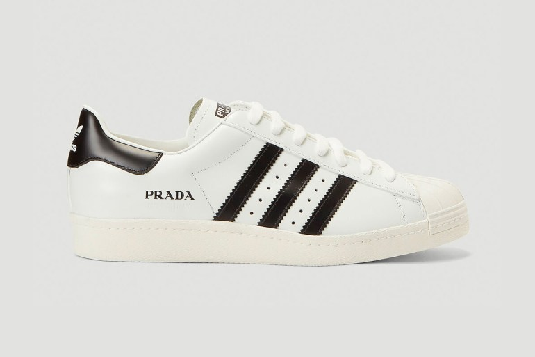 adidas superstar prada sneakers