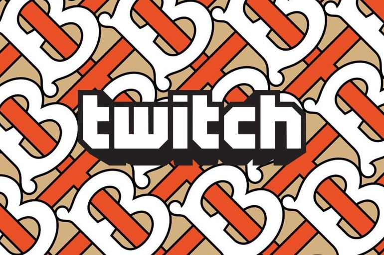 twitch burberry mode collection