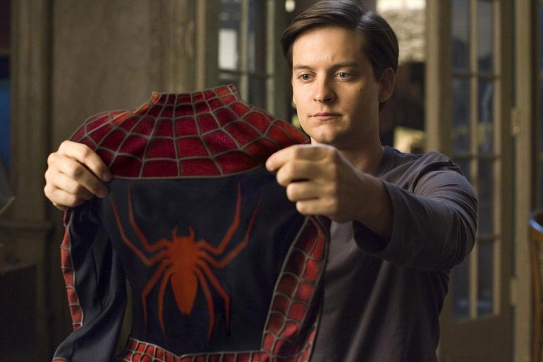 spider-man 3 tobey maguire andrew garfield tom holland multiverse