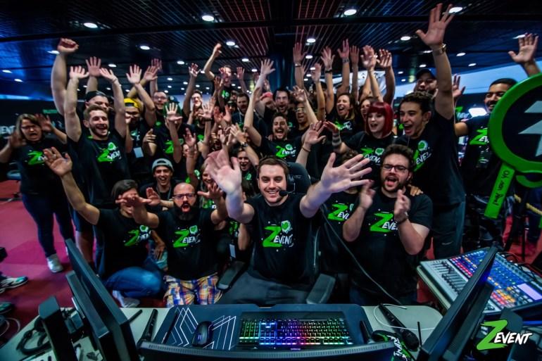 z event dons gaming évènement caritatif
