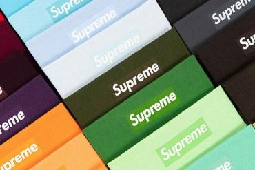 Supreme box-logo vente aux enchères