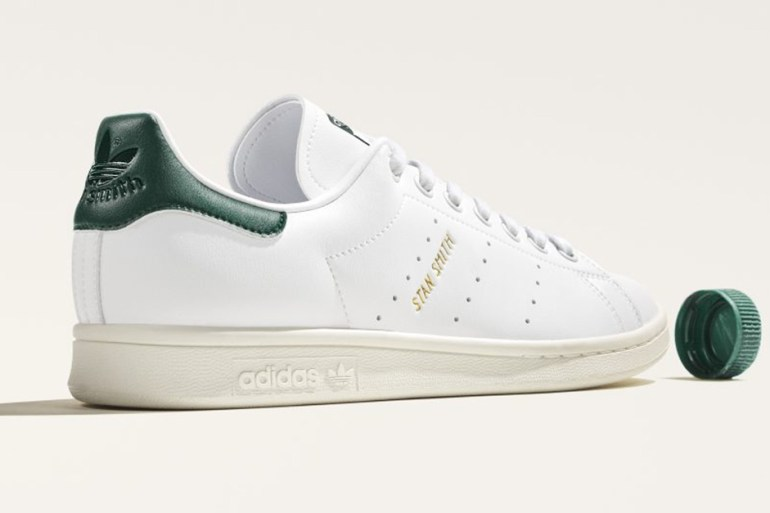 adidas stan smith recyclée bouteille plastique upcycling sneakers