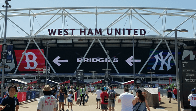 Stray observations from Yankees-Red Sox in London - Views ...