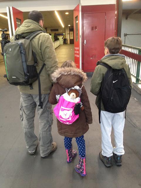 Arriving at Euston