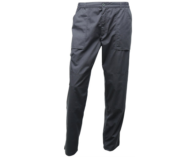 Regatta Mens Action Trousers - review - Regatta Action Trousers in Dark Grey
