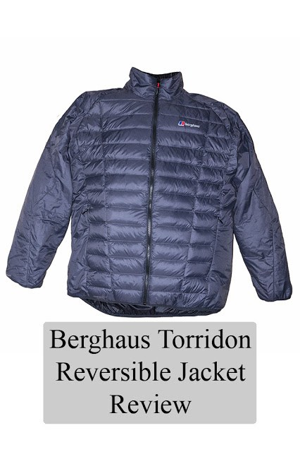 Berghaus Torridon Reversible Jacket - Review - a Warm yet lightweight jacket, reviewed by Views From an Urban Lake