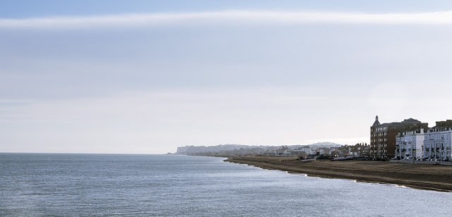 Views along the Coast from Deal