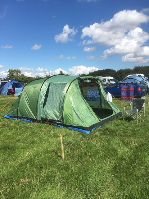 Coleman Mosedale 5 Tent at Birdfair camp site