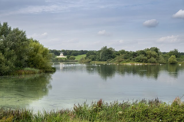 A Mixed Day at Willen Lake