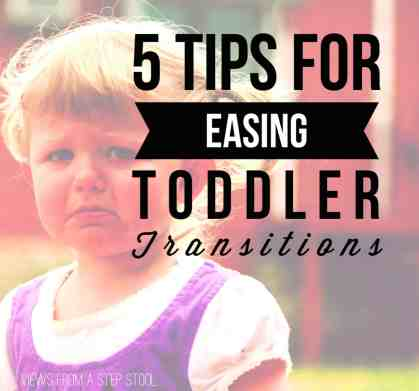 Transitions can be a difficult time for parents and kids alike, check out some simple ways to make them a bit smoother.